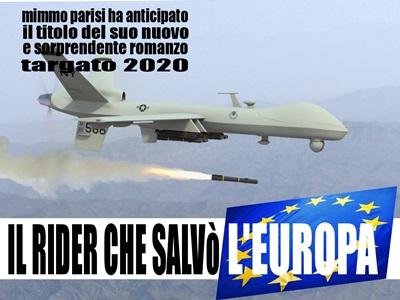 Il rider che salvò l'Europa, il romanzo di Mimmo Parisi per il 2020