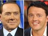 Renzi e Berlusconi: oltre al patto anche l'alleanza