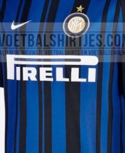 """Inter, probabile 1° maglia 2017/2018. I tifosi: """"Sembra un codice a barre"""""""