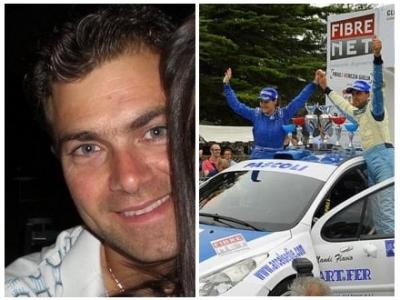 Omaggio a Thomas Pascoli campione di rally