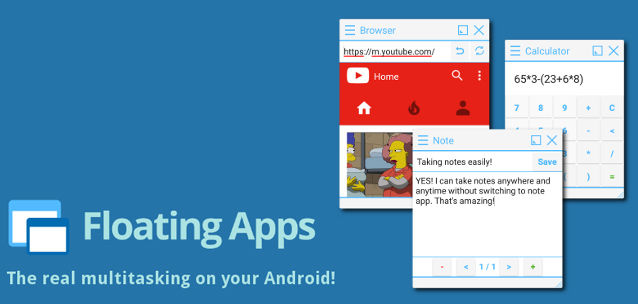 Floating Apps – multitasking ai massimi livelli su Android!