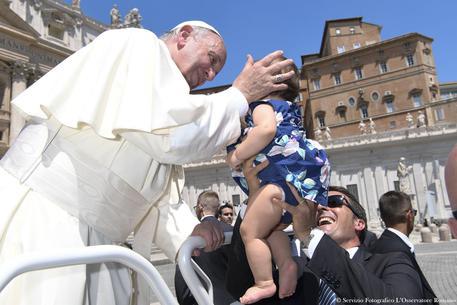 Papa con Unitalsi? Mai dire mai