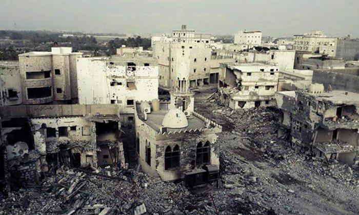 In Arabia Saudita il governo di Riyad rade al suolo gli edifici di Al-Awamiyah ad al-Qatif, roccaforte sciita