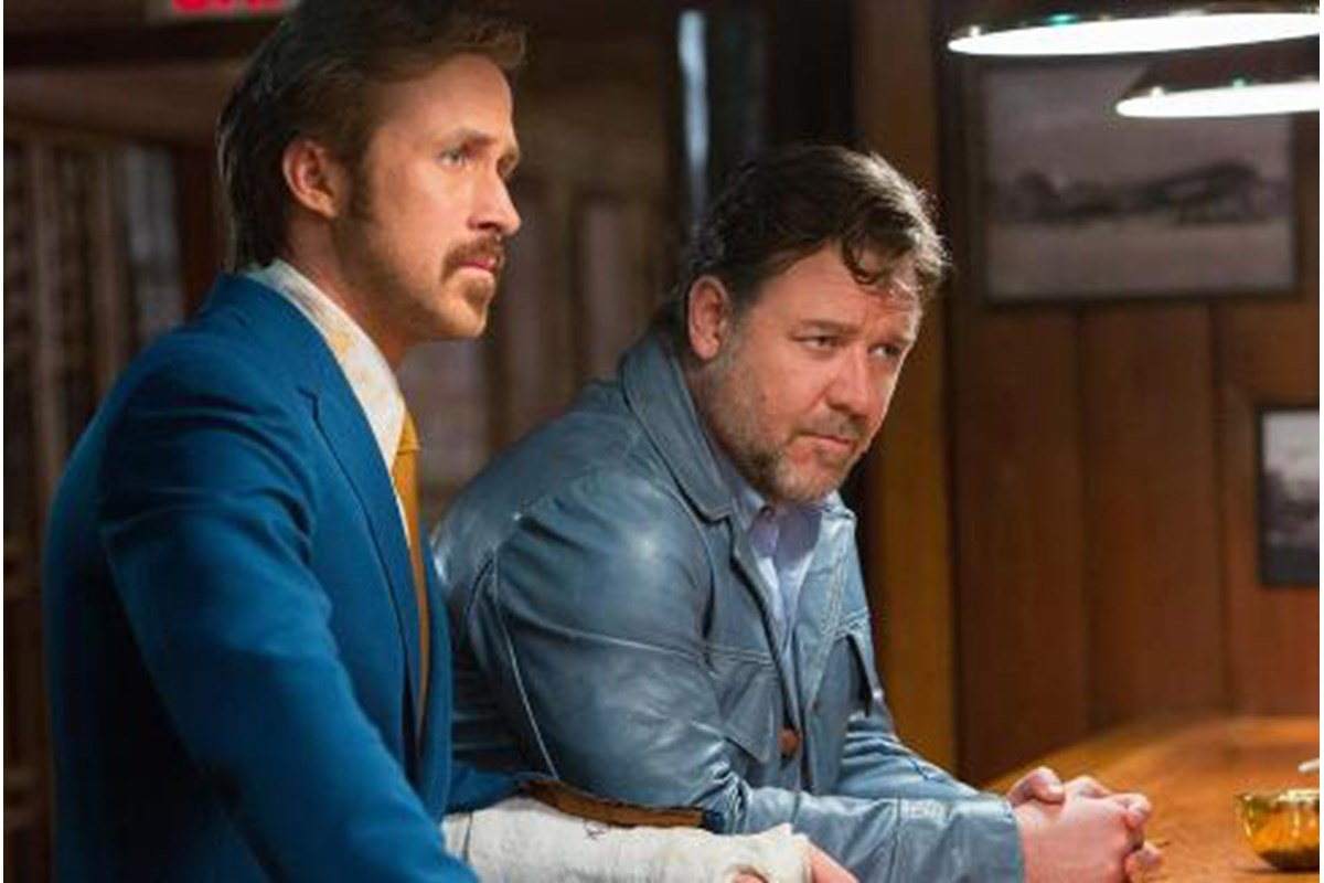 Online il primo trailer di The Nice Guys, a maggio nei cinema