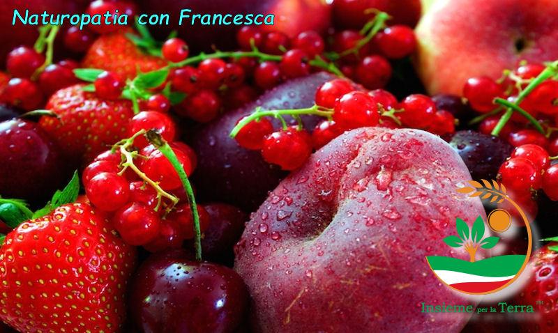 Naturopatia con Francesca – #Rosso benessere