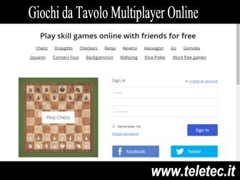 Classici Giochi da Tavolo Online e in Multiplayer - Ecco come trovarli