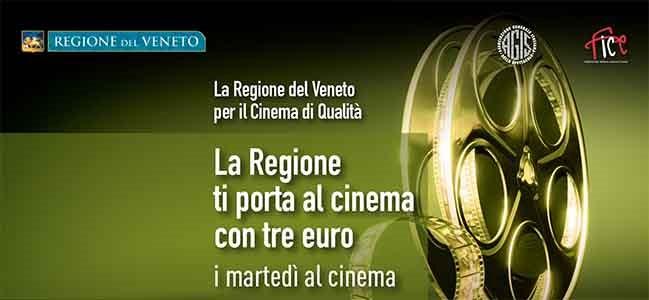 """Tornano nel mese di maggio """"I martedì al Cinema"""" con la Regione Veneto"""