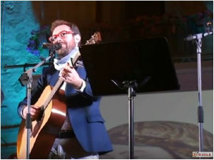 """Enna. Kiwanis Club assegna al cantautore Mario Incudine il """"Premio Euno"""" 2017"""
