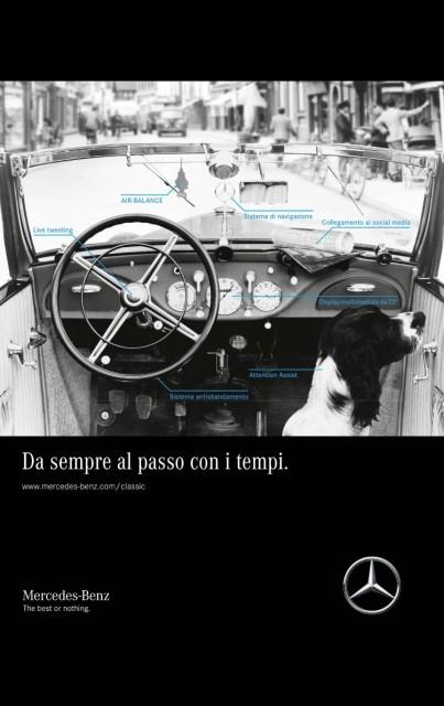 L'innovazione costante di Mercedes-Benz