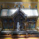 Le foto delle reliquie alla Diocesi di Noto