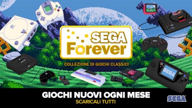 Sega Forever: su Android e iOS arrivano i titoli storici del retrogaming
