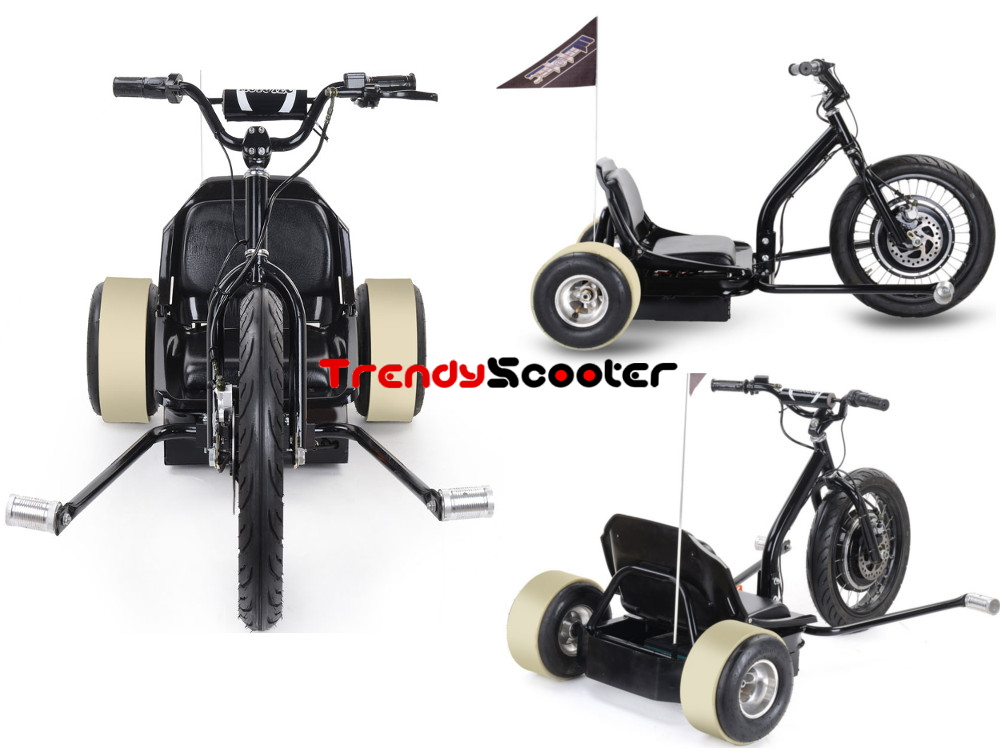TrendyScooter| MotoTec Electric Big Wheel Drift Trike