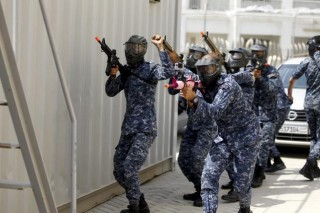 U.S. Navy leads 30-nation maritime exercise in Middle East