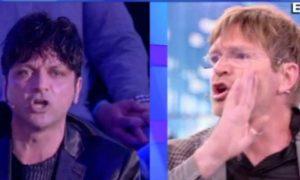 """Domenica Live, Facci spiega il perché della rissa in tv: """"Discussione surreale, mi sono messo al suo..."""