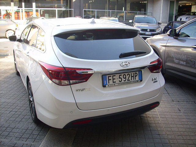 Test Drive Auto: I40 Elegante e spaziosa station made by Hyundai