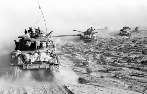 10 giugno 1967: Ha termine la guerra dei sei giorni