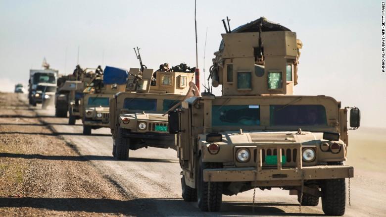 Iraq: Forze irachene riprendono aeroporto di Mosul dai militanti ISIS » Guerre nel Mondo