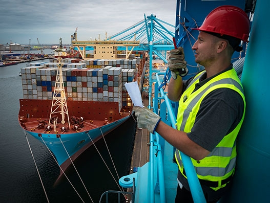 APM Terminals Rotterdam greets Madrid Maersk on its maiden journey | Shipping