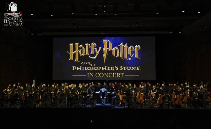 L'Orchestra Italiana del Cinema replica il CineConcerto Harry Potter e la Pietra Filosofale a Milano e Napoli