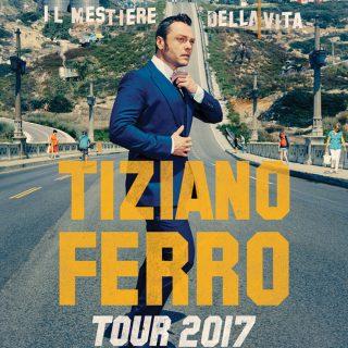 Tiziano Ferro a Messina, ecco la data del suo concerto del Tour 2017