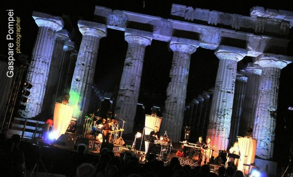 Tributo ai Pink Floyd innanzi i templi di SELINUNTE