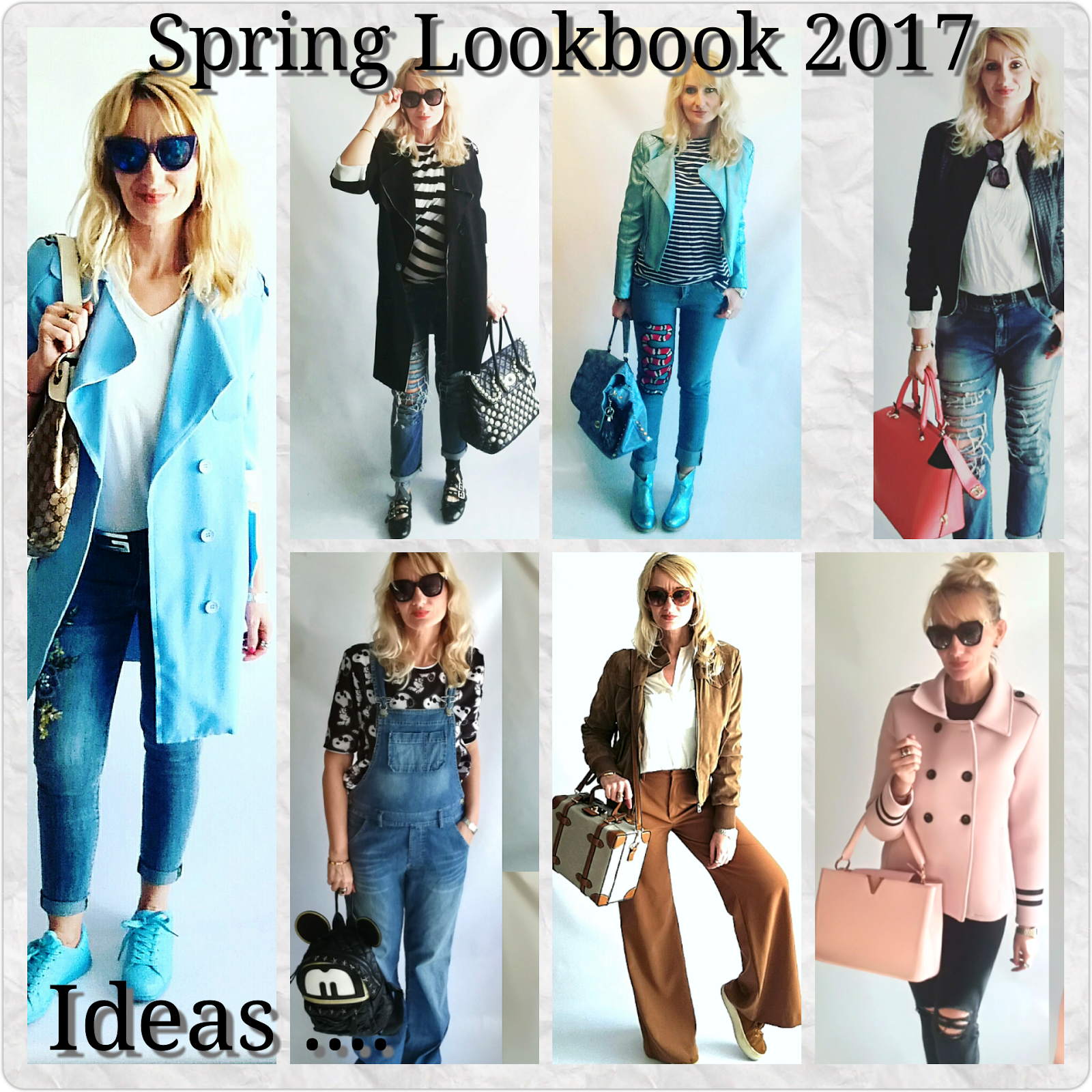 Cosa ci mettiamo questa primavera? Idee per un look Primavera 2017 di tendenza anche se il clima è ballerino...