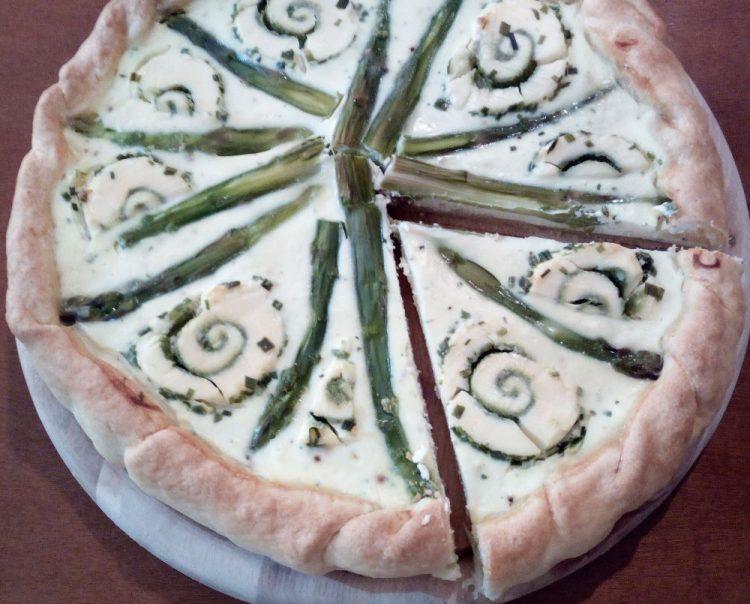 Quiche asparagi, ricotta e speck: la ricetta!