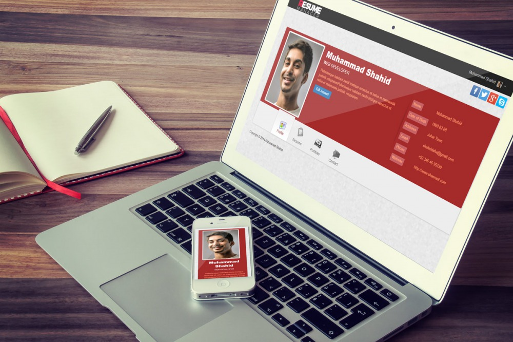 Come Creare il tuo profilo Web Professionale con Curriculum Integrato