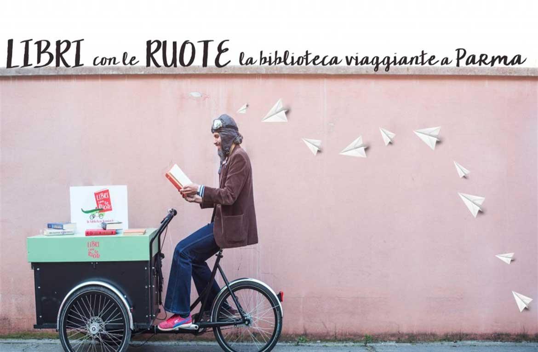 """A Parma i libri si muovono: al via il progetto per bambini """"Libri con le ruote"""""""