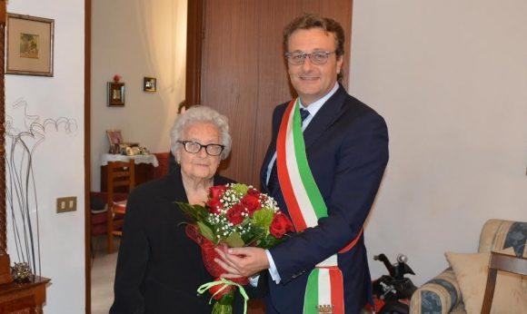 100 anni per la signora Rosa Martino di Castelvetrano