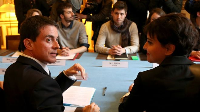 France student protests: PM Valls offers jobseeker aid