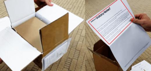 Samsung invia scatole resistenti al fuoco per restituire il Galaxy Note 7