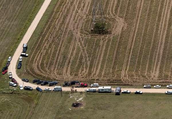 Una mongolfiera si schianta al suolo in Texas. Sedici i morti