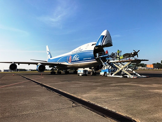 AirBridge Cargo lifts 2 Red Bull Air Race planes from Budapest to Kazan | Air Cargo