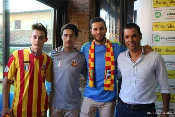 Presentati Luis Querido, Gonçalo Pinto e un tricolore sulle maglie
