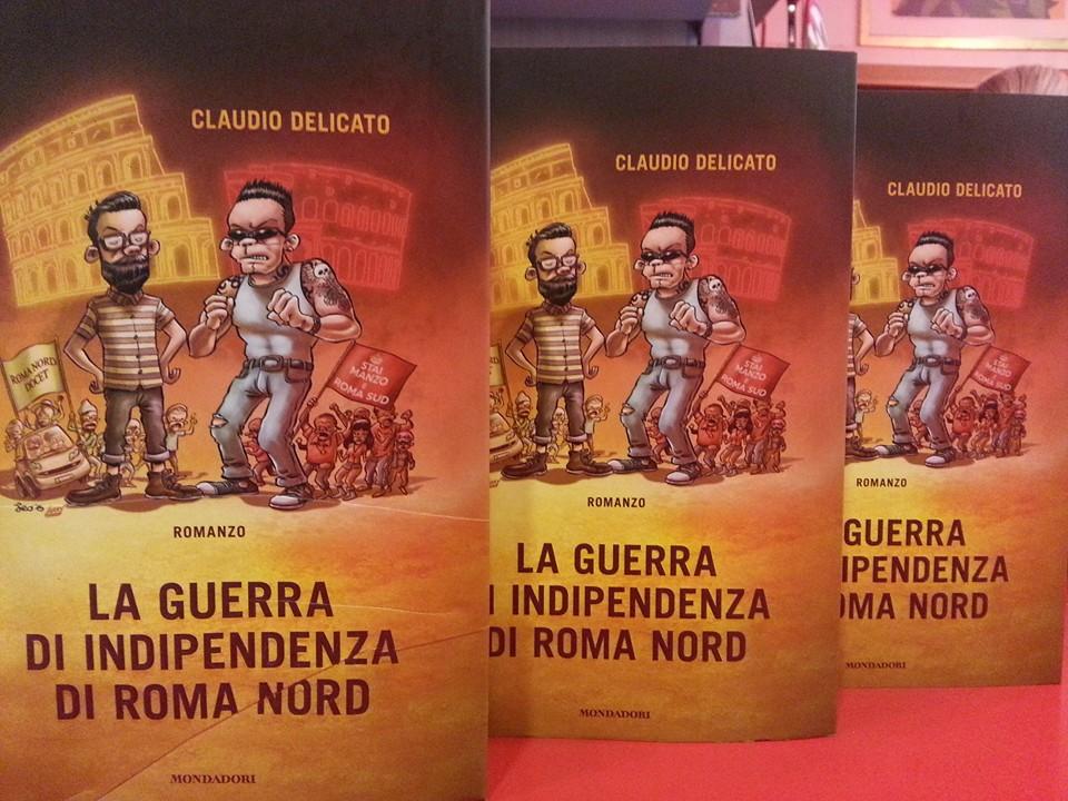 Roma Nord vs Roma Sud, una goliardata in libreria