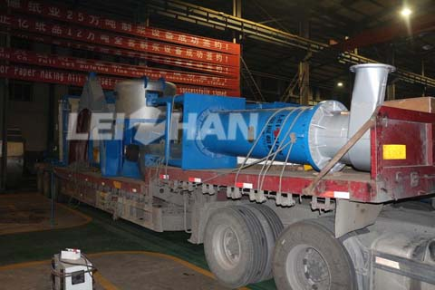 High Strength Corrugated Paper Pulping Project