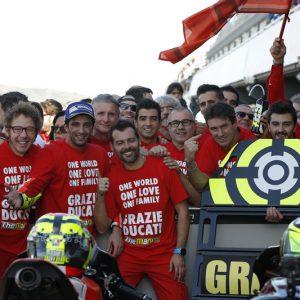Iannone chiude il Valencia MotoGP e l'avventura Ducati con un podio