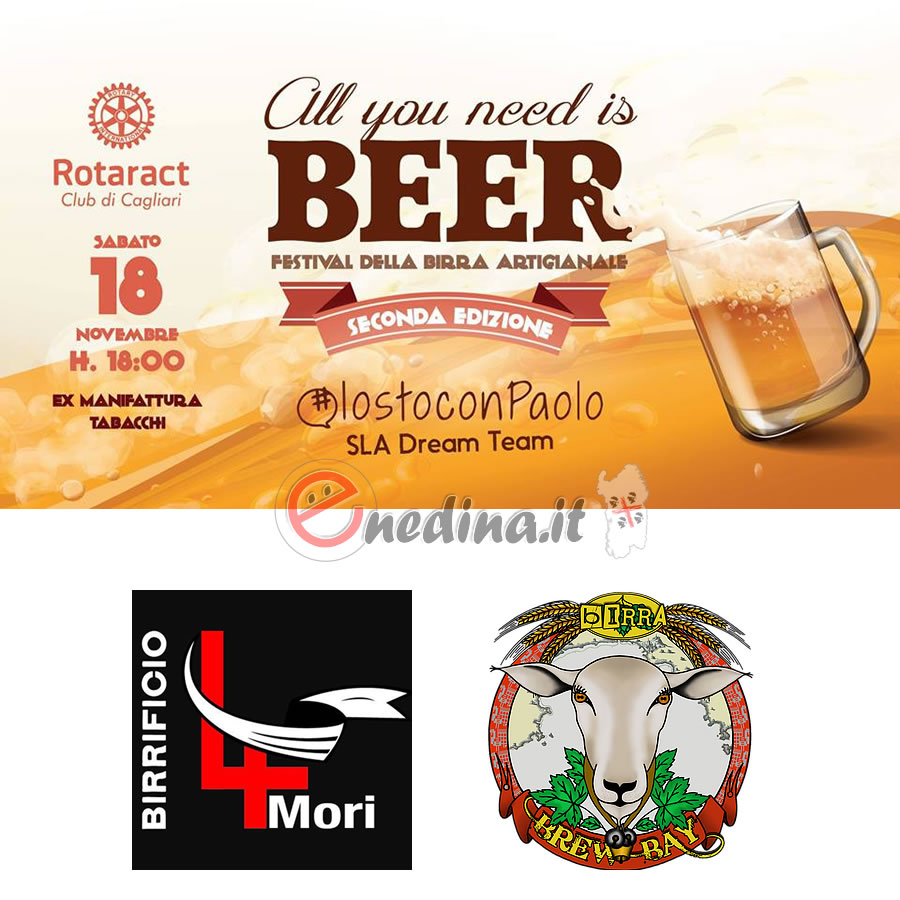 #iostoconpaolo, birra artigianale e street food a All you need is Beer a Cagliari