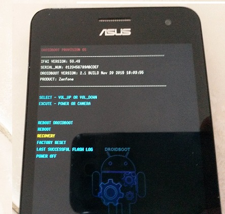 Flashare il Firmware Asus: Tablet, Zenfone 2, 3, 4, 5