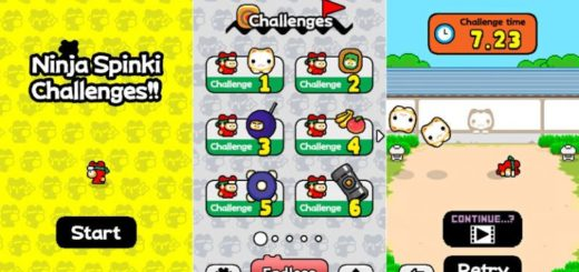 Scarica Ninja Spinki Challenges per Android, iPhone e iPad