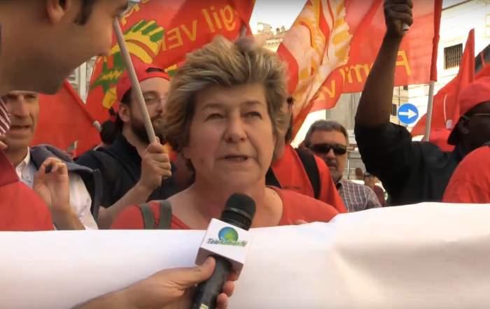 Manifestazione a Roma per dire Stop al TTIP