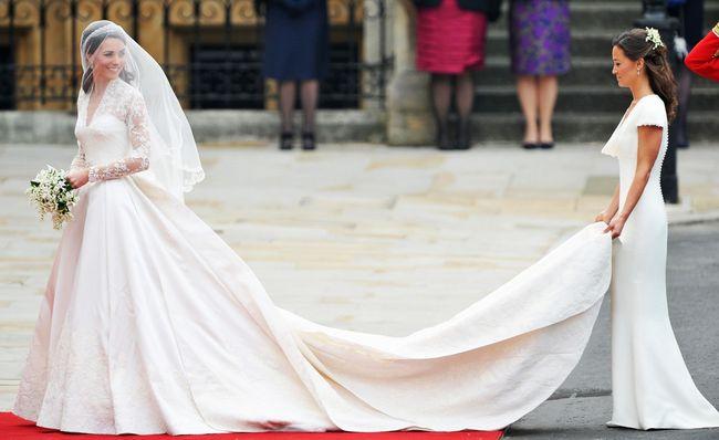 Bufera legale sull'abito da sposa di Kate Middleton