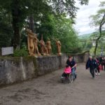 A #Lourdes il cielo si è chinato sulla terra