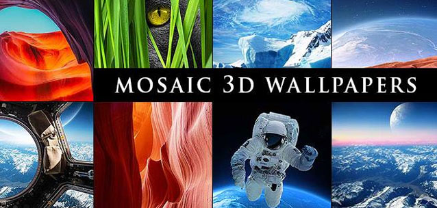 MOSAIC 3D Wallpapers – più di 130 splendidi sfondi 3D per Android!