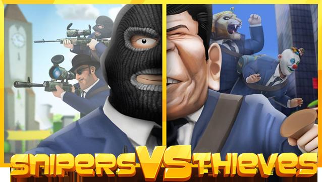 Snipers vs Thieves – divertenti scontri in multiplayer su Android e iOS!