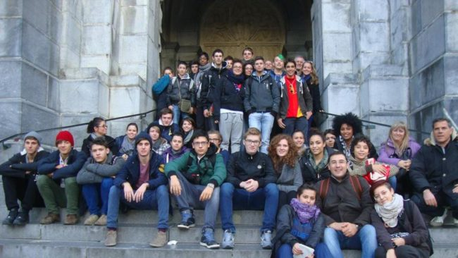 La gita anti-Halloween si celebra a Lourdes
