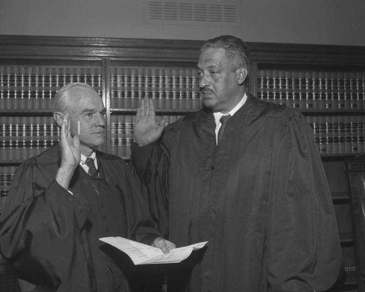 30 agosto 1967: Thurgood Marshall viene nominato giudice della Corte Suprema