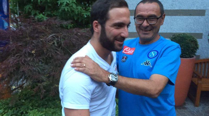 Calcio - Higuain fa una promessa a Sarri