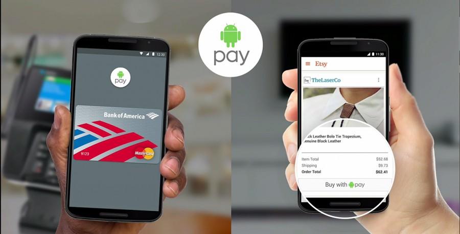 Android Pay si arricchisce con la collaborazione di Visa e Mastercard